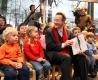 Franz Müntefering besucht das Türmchen in MarlGerhard Schypulla/ HONORARPFLICHTIG