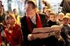 Franz Müntefering besucht das Türmchen in Marl Gerhard Schypulla/ HONORARPFLICHTIG
