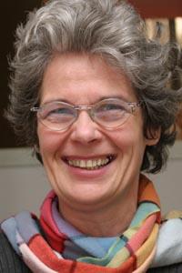 Maria Poll, Leiterin der Bücherei